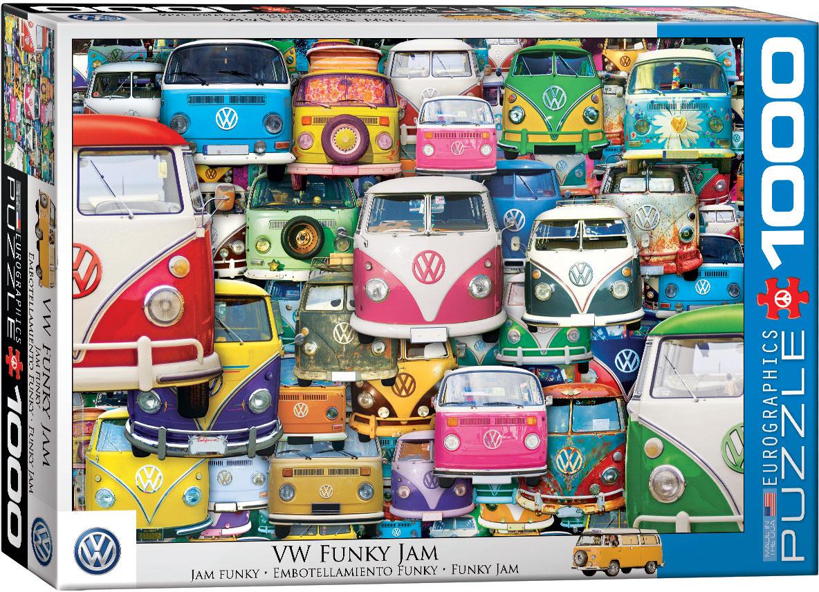 Volkswagen Bus – Funky Jam 1000 biter