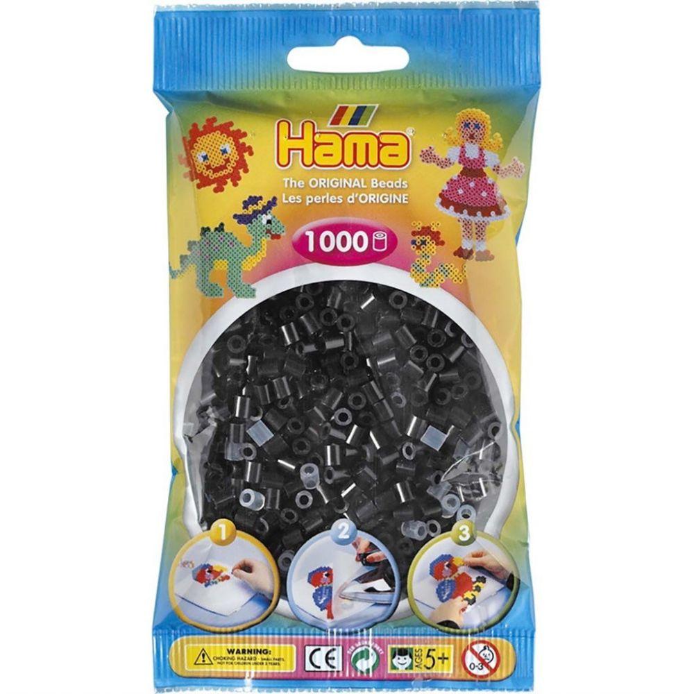 Hama Midi Beads 1000 pcs Black
