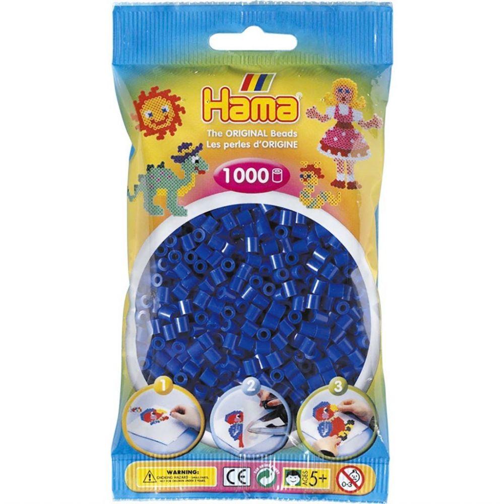 Hama Midi Beads 1000 pcs Blue