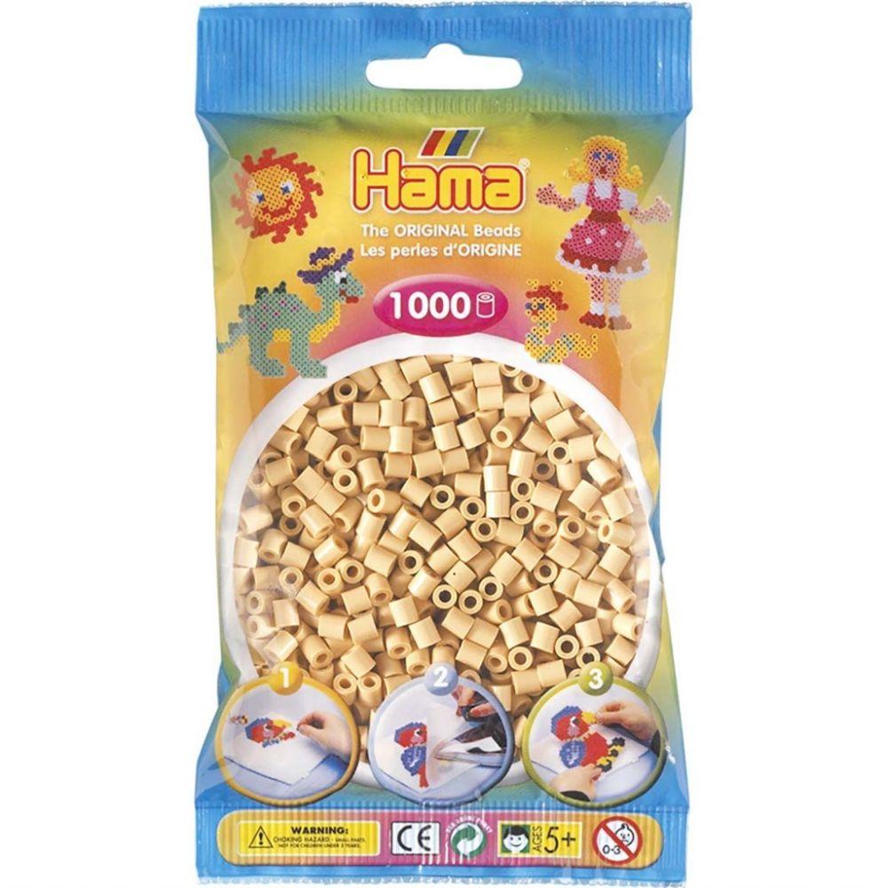 Hama Midi Beads 1000 pcs Beige