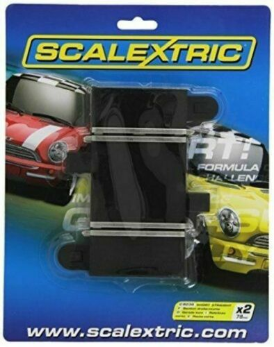 Scalextric Short Straight 78mm