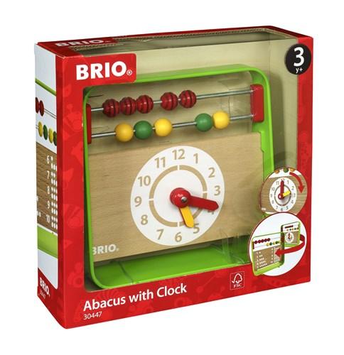 BRIO® Kuleramme med klokke
