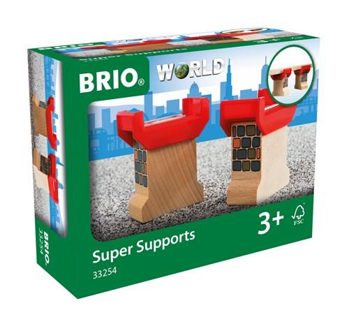 BRIO® Bropilarer i tre