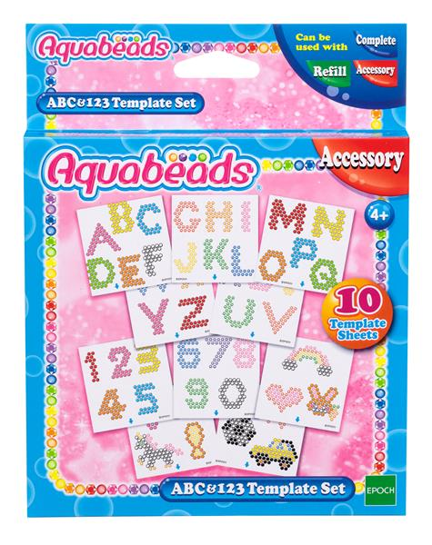 Aquabeads ABC&123 Template Set