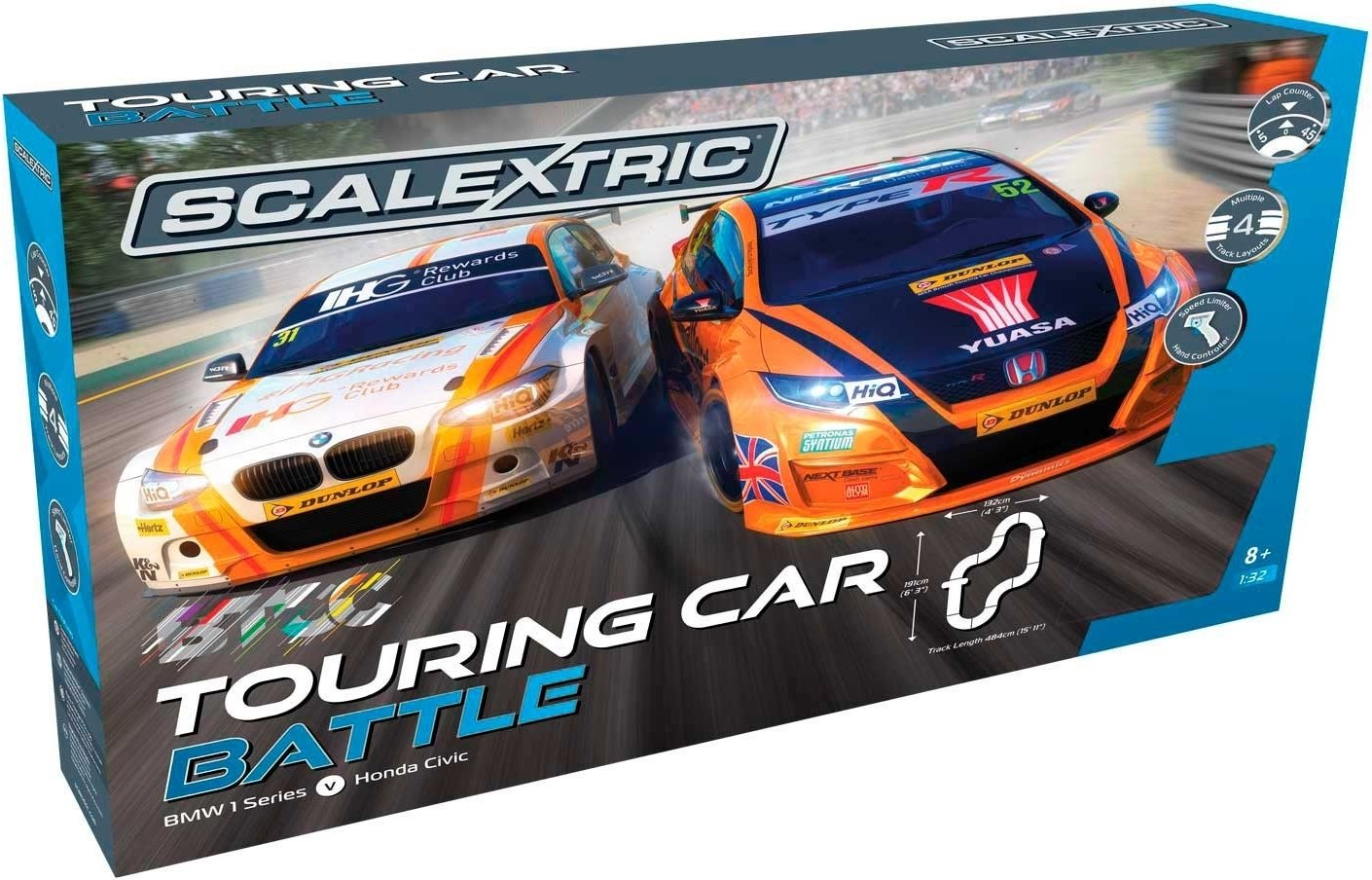 Scalextric British Touring Car Battle