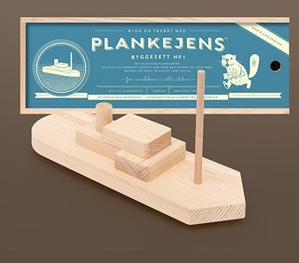 Plankejens – Plankebåt