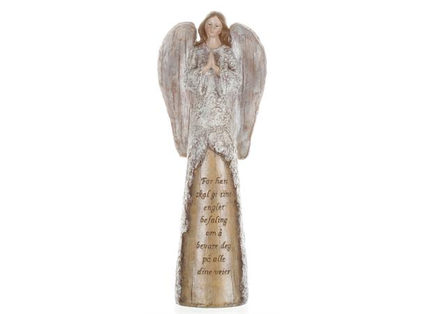 Engel m/foldede hender - For han skal gi sine engl