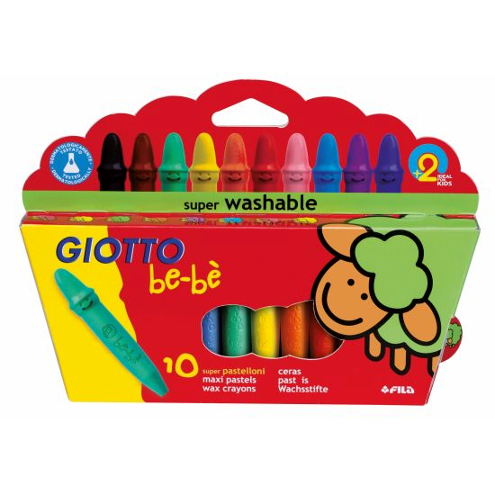 Giotto be-be waxkritt 10pk
