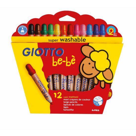 Giotto be-be Super Jumbofarger 12pk