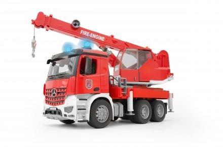 Bruder Arocs Fire Engine Crane Truck