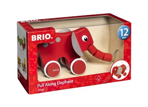 BRIO® Elefant trekkeleke
