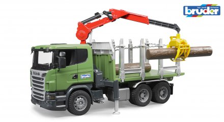 Bruder Scania R-series Timber Truck