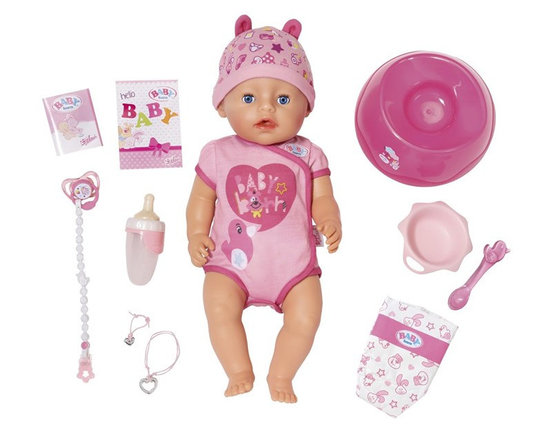 BABY born® soft touch doll