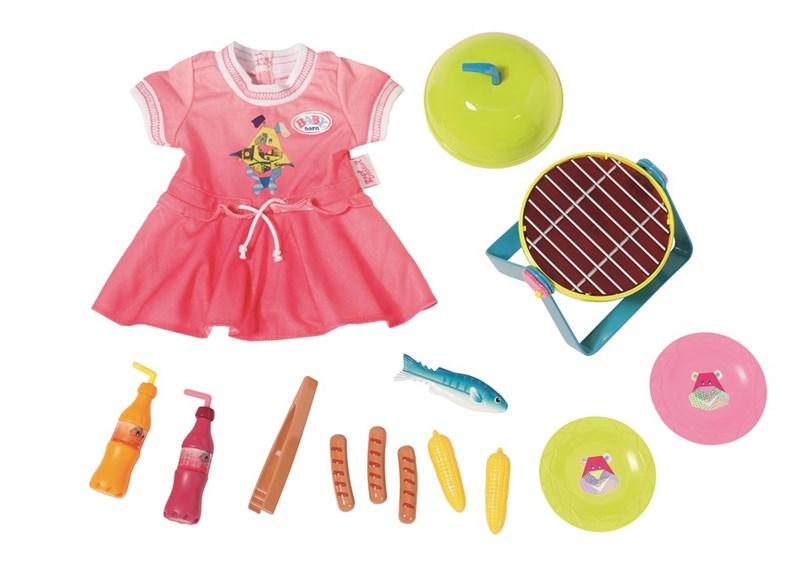 BABY born® Play&Fun Barbeque Set
