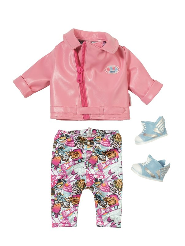 BABY born® Play&Fun Deluxe Scooter Outfit