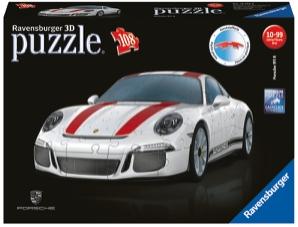 Puslespill 3D Porsche 108p