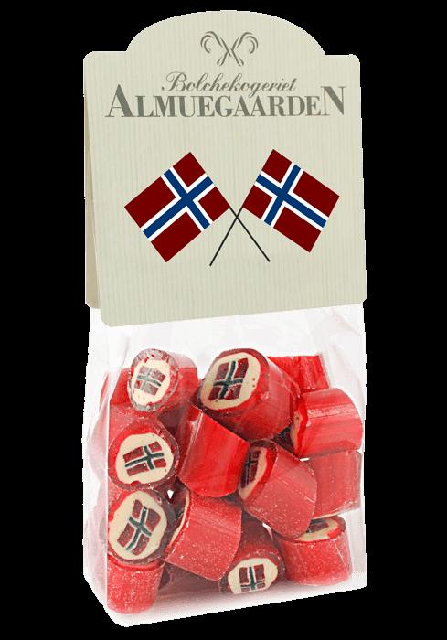 Norske flagg drops