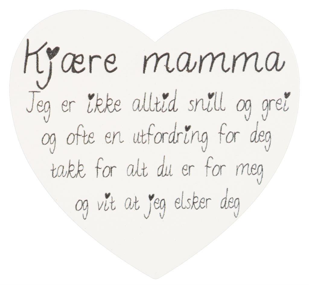 Magnetskilt Kjære mamma.....