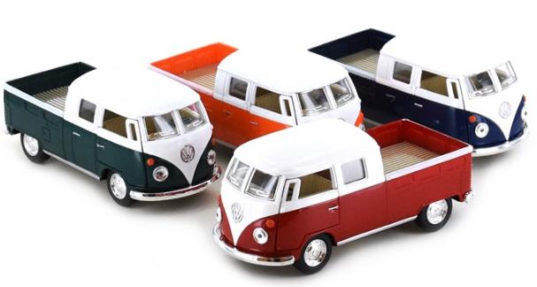 Bil 1963 Volkswagen Buss 1:34 8cm