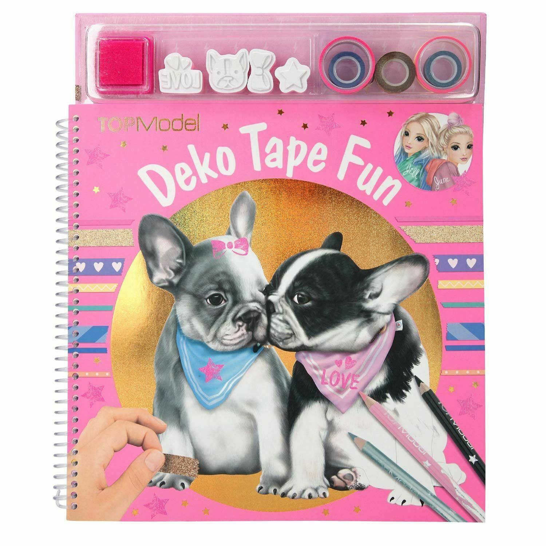 Top Model aktivitetsbok deco tape fun