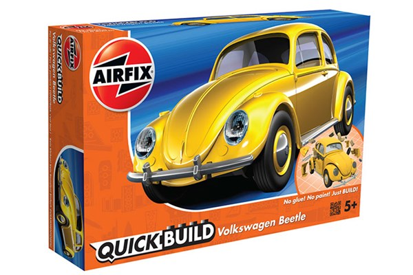 Quick Build Volkswagen Beetle - Yellow