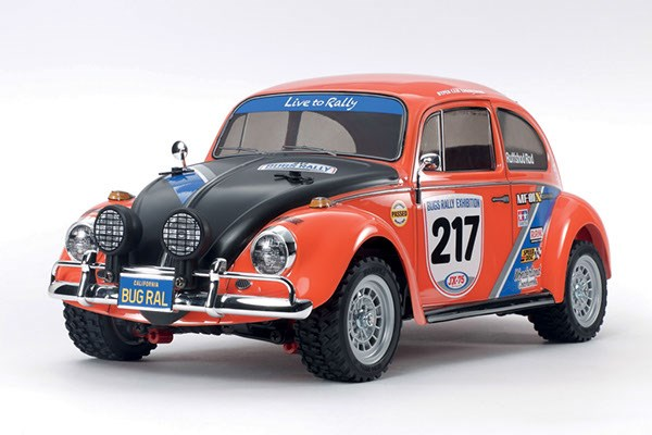 VW Beetle Rally 1/10 R/C