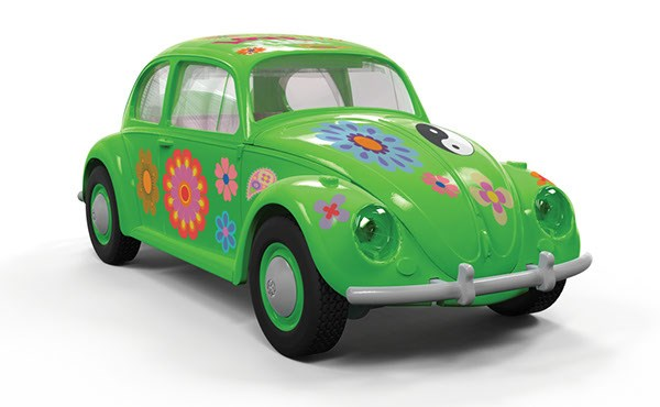 Quick Build Volkswagen Beetle Flower-Power