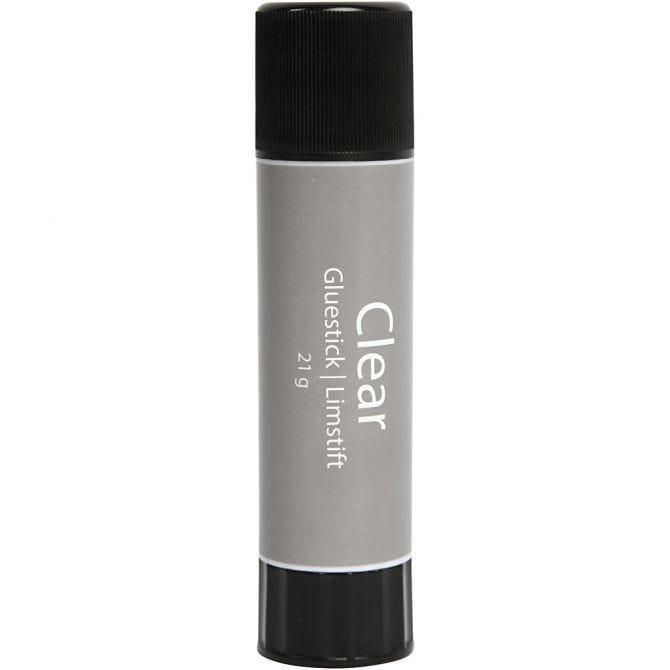 Clear limstift 21g