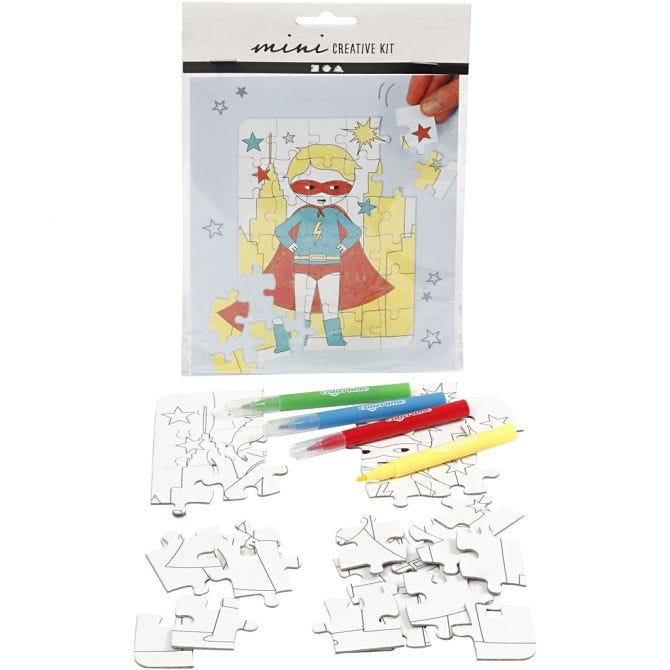 mini Creatice Kit Puslespill Gutt