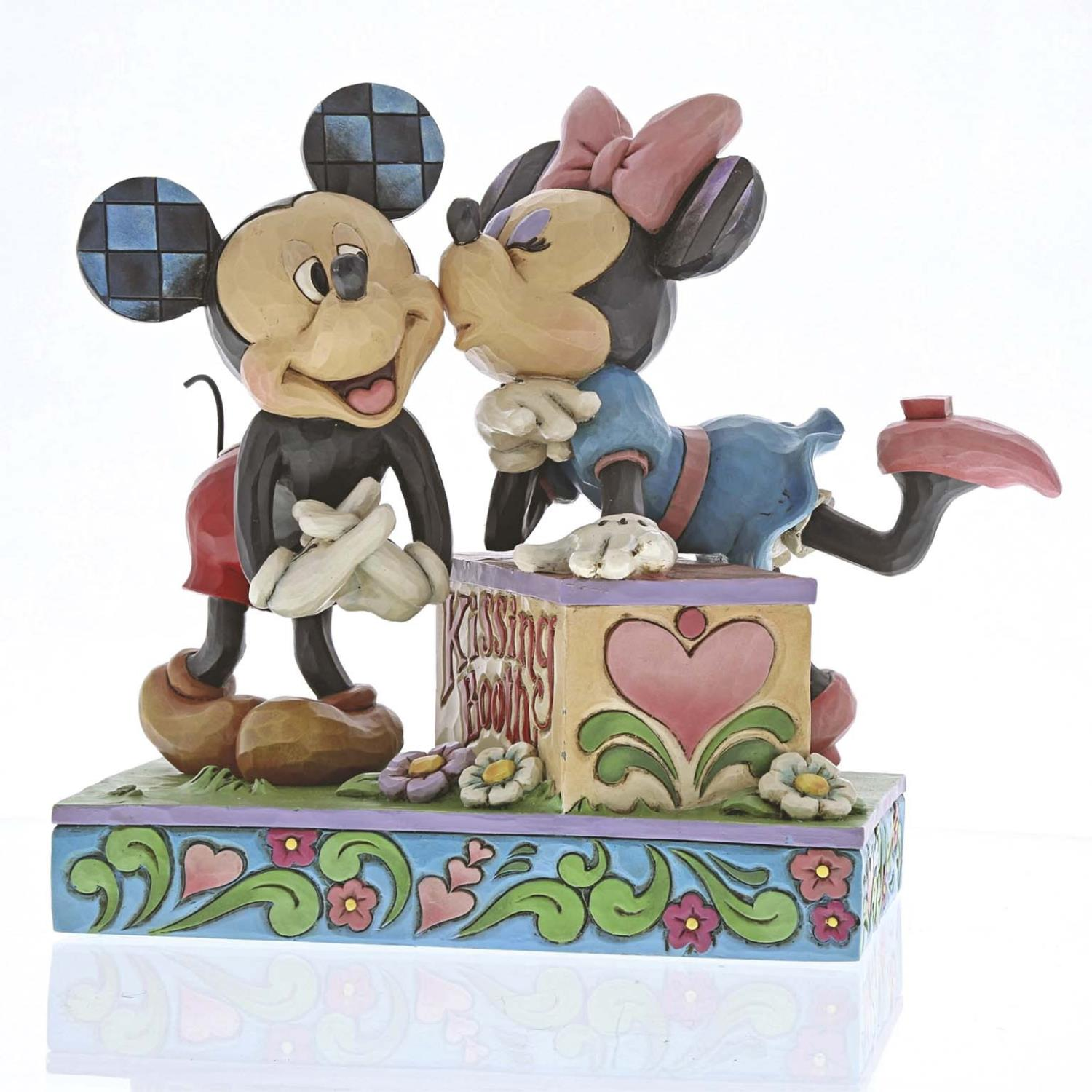 Kissing Booth Mickey & Minnie