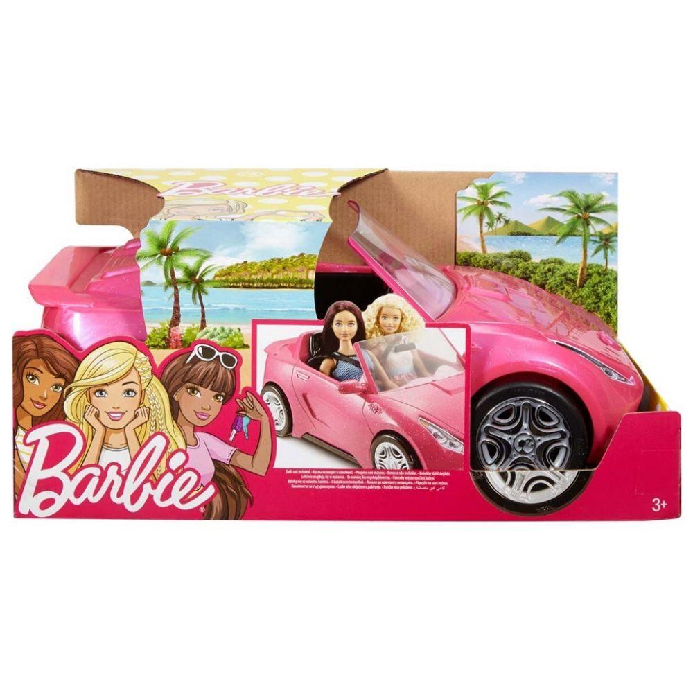Barbie glam convertible (rosa bil)