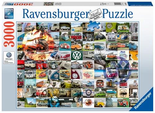 99 Volkswagen biler 3000 brikker