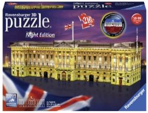 Puslespill 3D Buckingham Palace night edition 216p