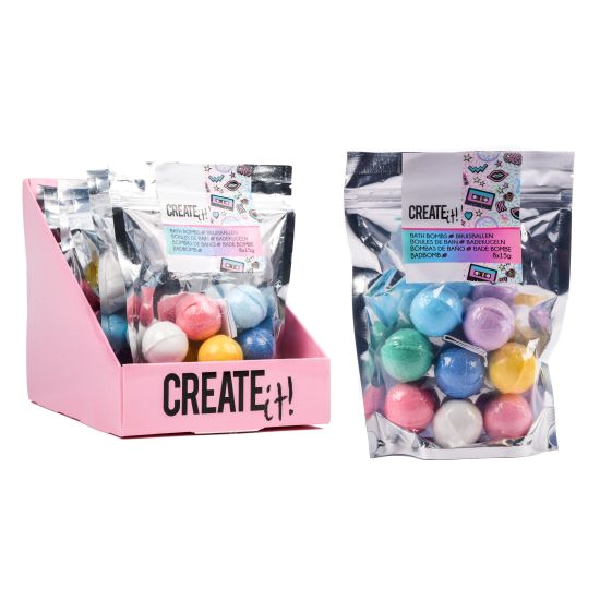 Create it! Bath bomb mini 8pk