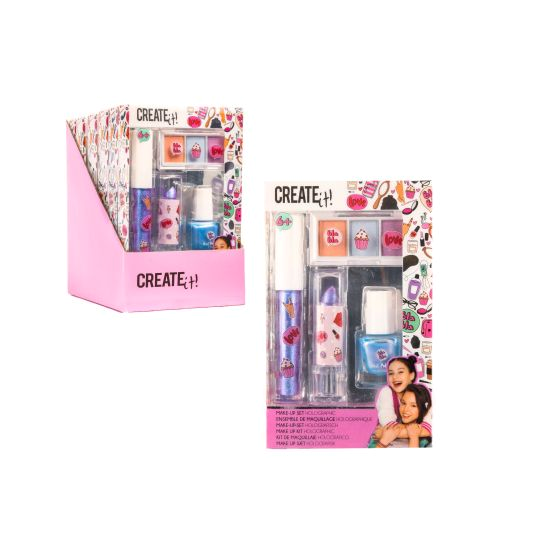 Create it! Makeup set holographic