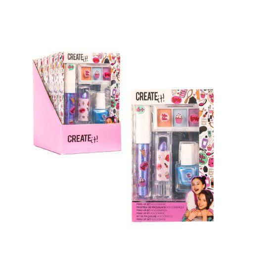 Create it! Makeup set holographic