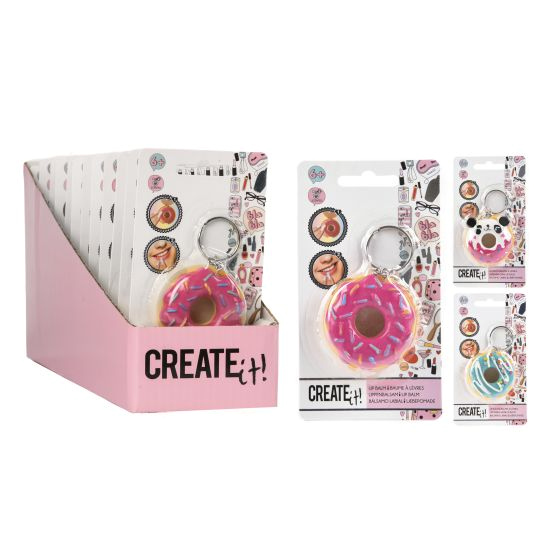 Create it! Donut lip balm pink 3ass
