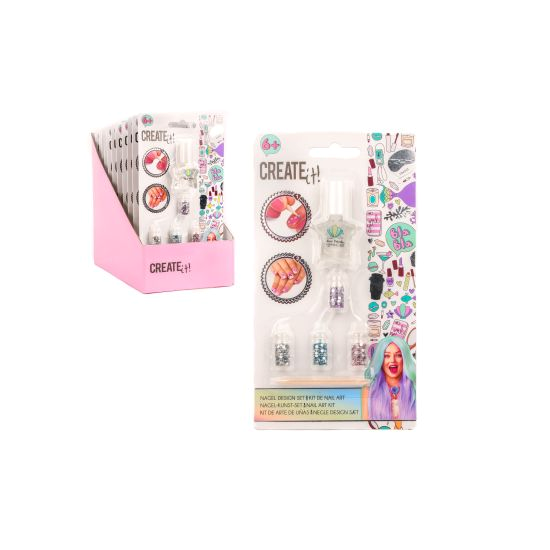 Create it! Nail art kit mermaid