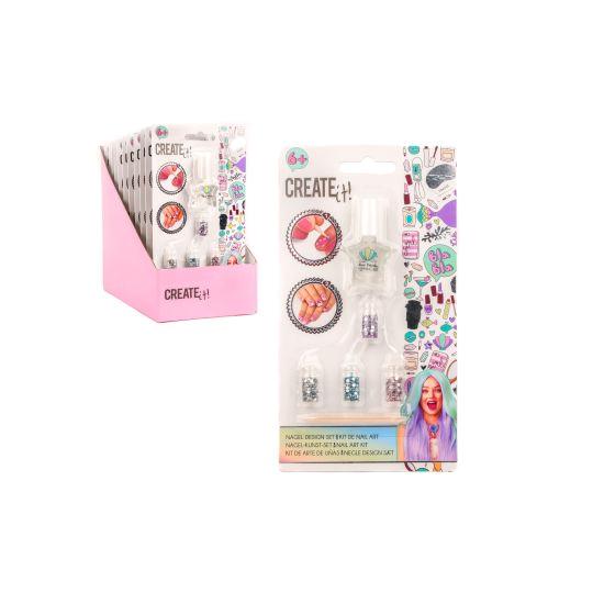 Create it! Nail art kit mermaid