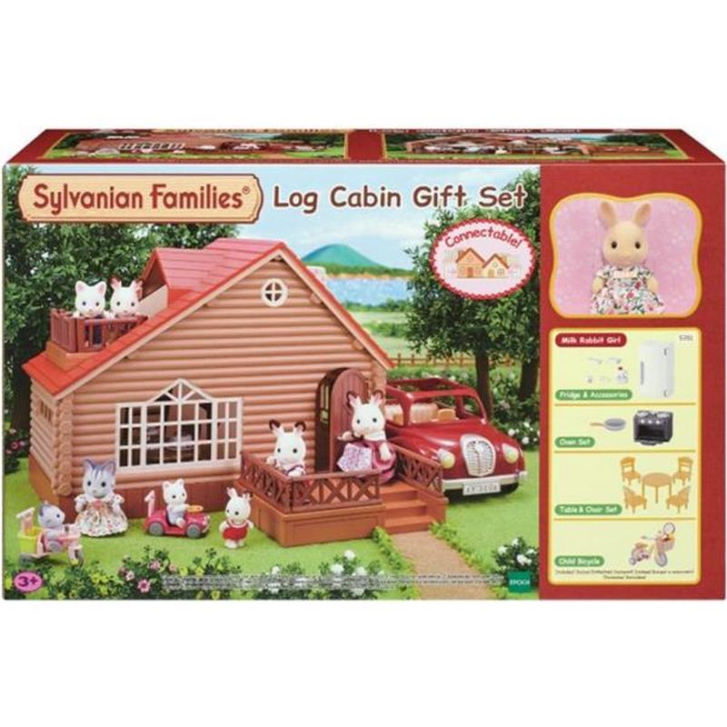 Sylvanian Log Cabin gift set