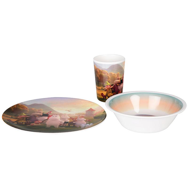 Mummi servise Mummidalen glass/skål/tallerken