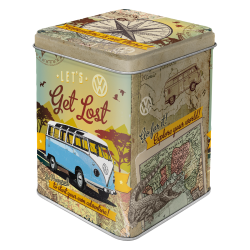 Volkswagen Bulli Let´s get lost teabox