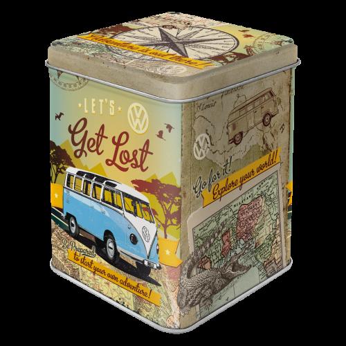 Volkswagen Bulli Let´s get lost teabox