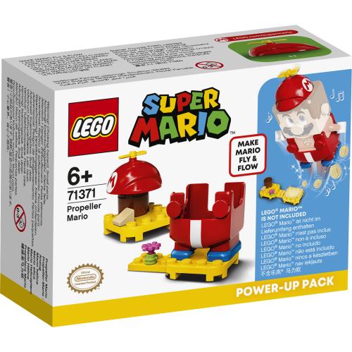 Power -Up-Pakken Propell-Mario