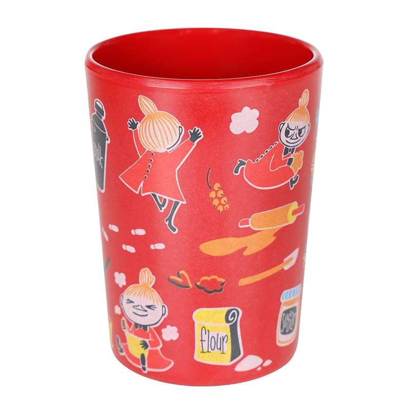 Mummi kopp i melamin rød Lille My