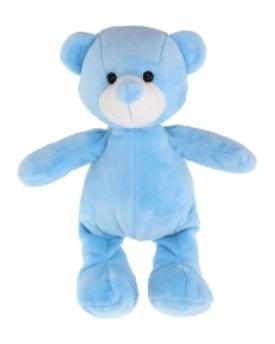Tinka baby Bamse 25cm lyseblå