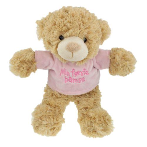 Tinka baby Bamse 25cm rosa t-skjorte min første ba