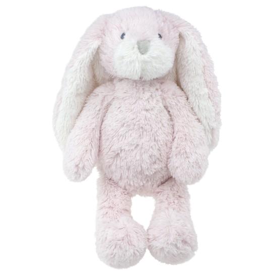 Tinka baby Kanin plysj rosa/hvit 30cm
