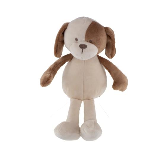 Tinka baby Hund plysj brun/beige 25cm