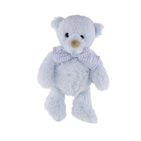 Tinka baby Bamse m/sløyfe 25cm blå